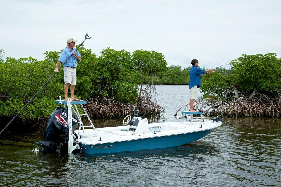 Our Bluewater 180 Is A Great Fishing Platform