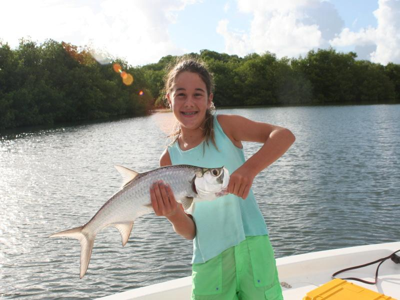 First Ft Myers Tarpon On A Fly