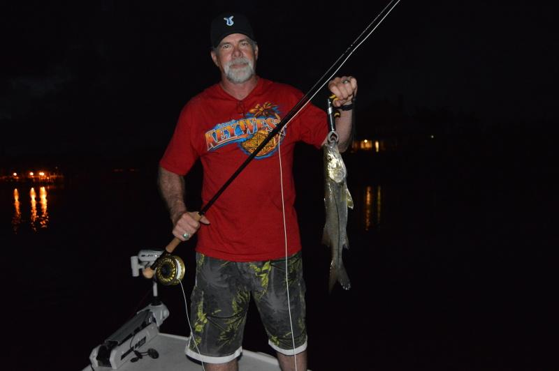 Fort Myers First Snook On A Fly Rod