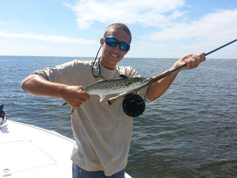 Ft Myers flyfishig For Mackrel