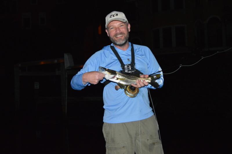 Night Fly Fishing Grand Slam Snook
